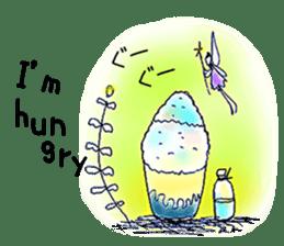 Small Rabbit strange dream sticker #4783555