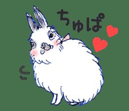 Small Rabbit strange dream sticker #4783572