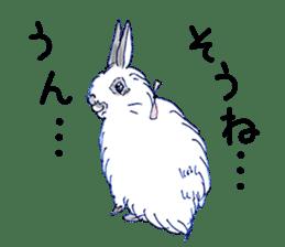 Small Rabbit strange dream sticker #4783573