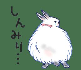 Small Rabbit strange dream sticker #4783574