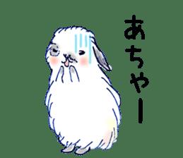 Small Rabbit strange dream sticker #4783575