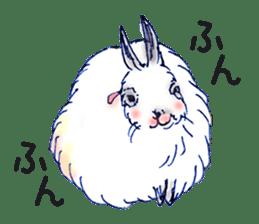 Small Rabbit strange dream sticker #4783577