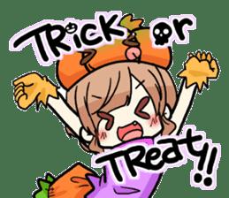 Halloween Girl sticker #4783745