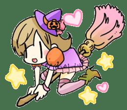 Halloween Girl sticker #4783750