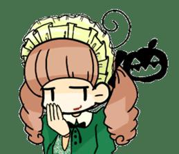 Halloween Girl sticker #4783759