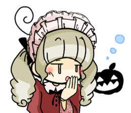 Halloween Girl sticker #4783760