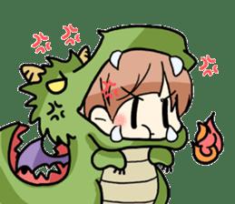 Halloween Girl sticker #4783771