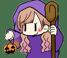 Halloween Girl sticker #4783774