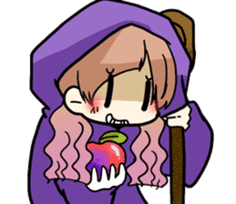 Halloween Girl sticker #4783775