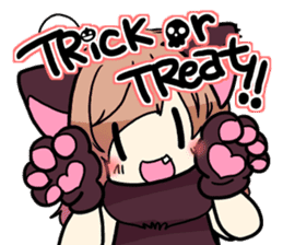 Halloween Girl sticker #4783778