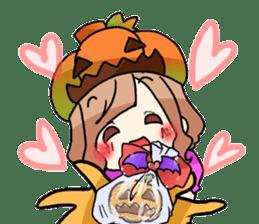 Halloween Girl sticker #4783782