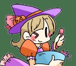 Halloween Girl sticker #4783783