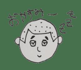 Gentleman boy, Taro sticker #4783828