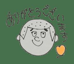 Gentleman boy, Taro sticker #4783829