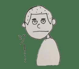 Gentleman boy, Taro sticker #4783836