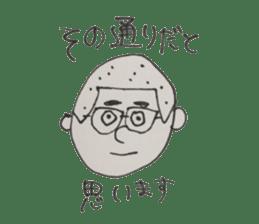 Gentleman boy, Taro sticker #4783837