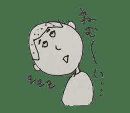 Gentleman boy, Taro sticker #4783842