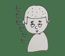 Gentleman boy, Taro sticker #4783845
