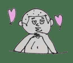 Gentleman boy, Taro sticker #4783846
