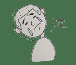 Gentleman boy, Taro sticker #4783854