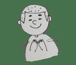 Gentleman boy, Taro sticker #4783858