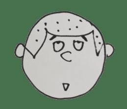 Gentleman boy, Taro sticker #4783859