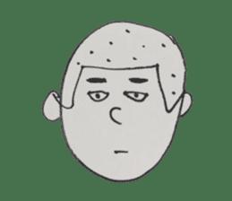 Gentleman boy, Taro sticker #4783861