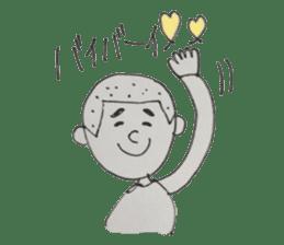 Gentleman boy, Taro sticker #4783863
