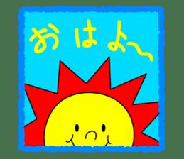 Cat named Shiro sticker #4784025