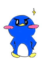 Yuruheta penguin? Pen Taro sticker #4784315