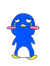 Yuruheta penguin? Pen Taro sticker #4784318