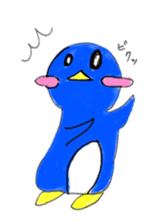 Yuruheta penguin? Pen Taro sticker #4784331
