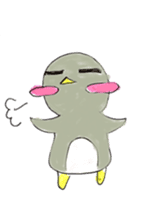 Yuruheta penguin? Pen Taro sticker #4784335