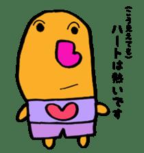 nose of heart sticker #4784658