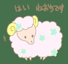 sleepy sleepy sheep sticker #4784905
