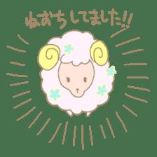 sleepy sleepy sheep sticker #4784906