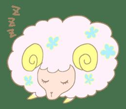 sleepy sleepy sheep sticker #4784912