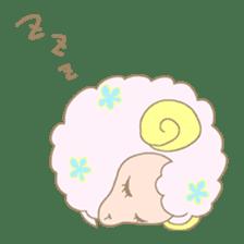 sleepy sleepy sheep sticker #4784913