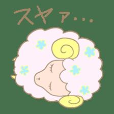 sleepy sleepy sheep sticker #4784915