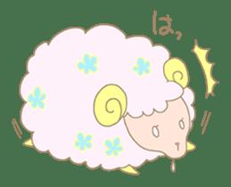 sleepy sleepy sheep sticker #4784916