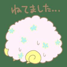 sleepy sleepy sheep sticker #4784919