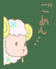 sleepy sleepy sheep sticker #4784921