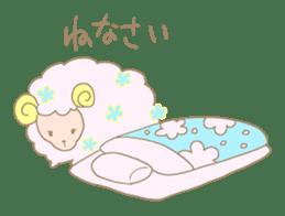 sleepy sleepy sheep sticker #4784925