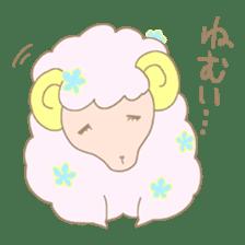 sleepy sleepy sheep sticker #4784927
