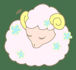 sleepy sleepy sheep sticker #4784929