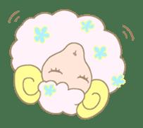 sleepy sleepy sheep sticker #4784930