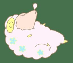 sleepy sleepy sheep sticker #4784931