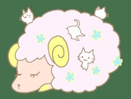 sleepy sleepy sheep sticker #4784933