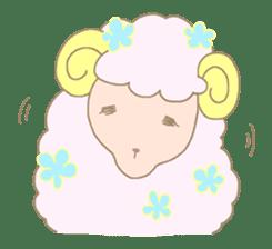 sleepy sleepy sheep sticker #4784934