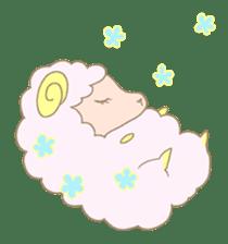 sleepy sleepy sheep sticker #4784935